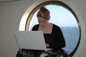 Virgi sulla nave Costa Victoria 07/2009