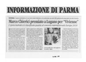 Articolo su Viviene dall'Informazione di Parma